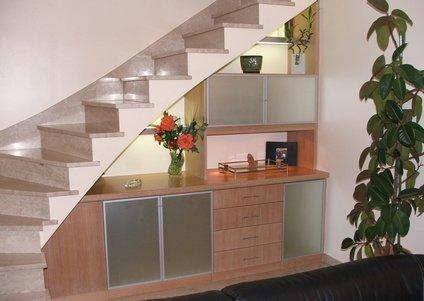 Bibliothèque Sous-Escalier - Elegance Rangement