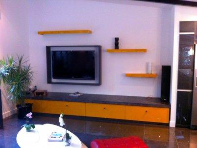 living sur mesure meuble tv sur mesure rangement sur mesure living. Black Bedroom Furniture Sets. Home Design Ideas