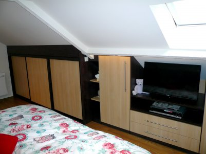 el gance rangement r alisation de chambre sur mesure. Black Bedroom Furniture Sets. Home Design Ideas